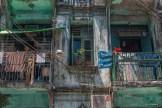 Ancien bâtiment colonial Yangon.