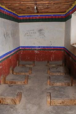 Toilettes du monastère de Gyantse près de Lhassa - Tibet