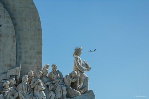 Monument aux Découvertes (Padrão dos Descobrimentos) à Lisbonne - Portugal