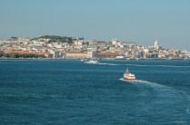 Vue du Tage sur Lisbonne - Portugal