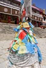 Drapeaux à prière - Drepung Monastery - Lhassa - Tibet
