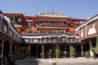 Monastère du Jokhang ( Tsuklakang) Lhassa - Tibet