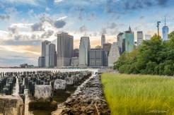 Manhattan depuis Brooklyn New York