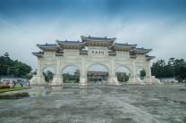 Porte d'entrée du mémorial Chiang Kai Shek Tapei - Taiwan.