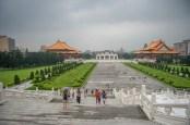 Vue depuis le mémorial Chiang Kai Shek Tapei - Taiwan.