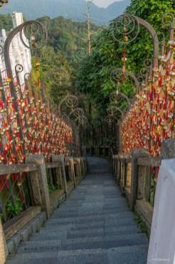 Temple Taoiste - Sun Moon Lake - Taiwan.
