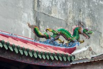 Toit et dragon - Temple Lukan - Taiwan.