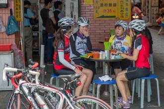 Cyclistes Tamsui, Taiwan.