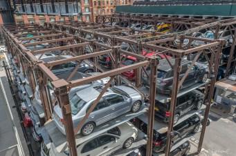 Parking en étage High line New York