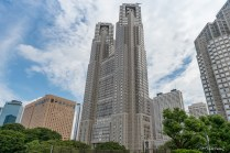 Tokyo Metropolitan Government building - Shinjuku - Tokyo - Japon.