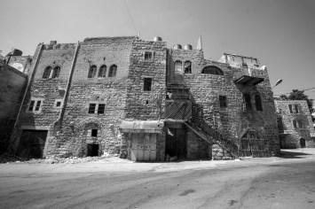 Wohnhaus in der Krisenregion Hebron in Israel/Palästina. Juli 2017 // Residential building in the criss region of Hebron, Israel/Palestine. July 2017