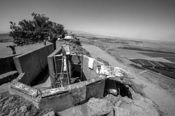 Aussicht von der UN Friedenmission in den Golan Höhen aus auf Syrien in Israel, Juli 2017 // View from the UN peacekeeping mission in the Golan Heights on Syria in Israel, July 2017