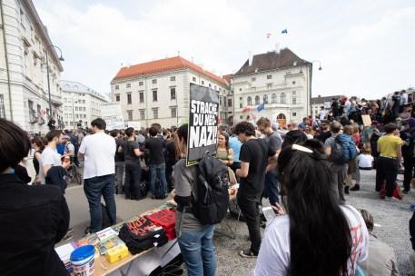 Demonstration und Stellungnahmen_45