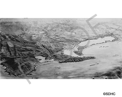San Diego Harbor Prints Or Digital Downloads For