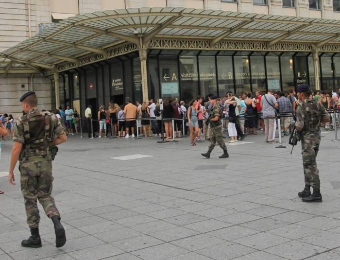 Tight security in Paris