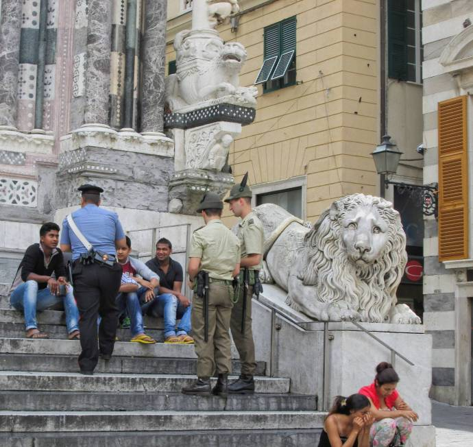 Italy cracks down on immigrants