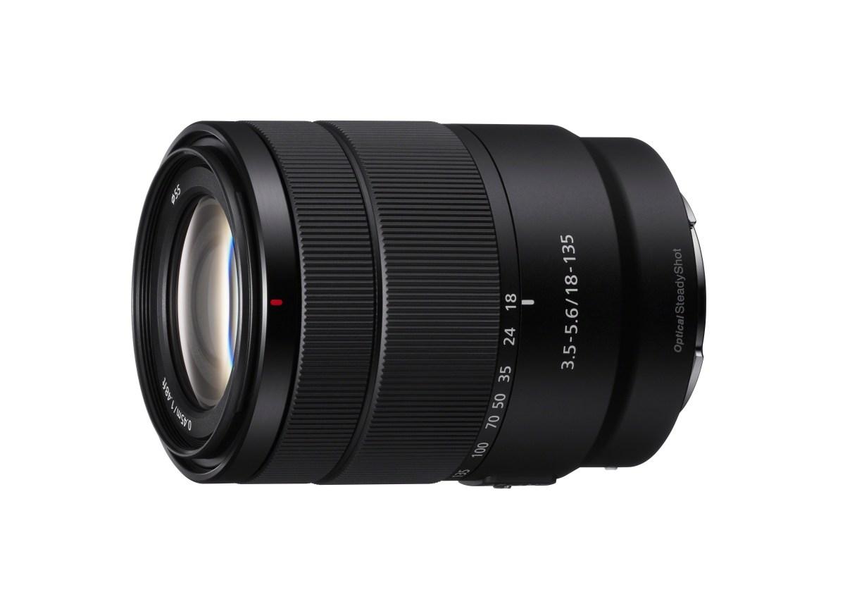High Quality 18-135mm F3.5-5.6 APS-C Zoom Lens (PRNewsfoto/Sony Electronics)