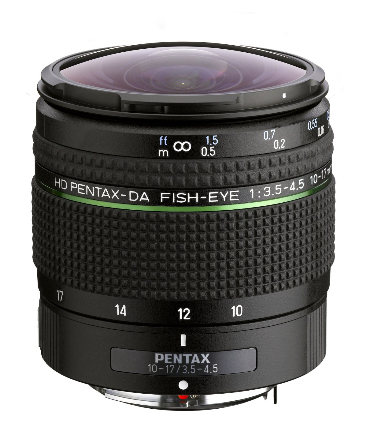 Ricoh Imaging Americas Corporation today announced the launch of the HD PENTAX-DA FISH-EYE 10-17mm F3.5-4.5 ED zoom lens for use with K-mount digital SLR cameras. The compact and lightweight fish-eye lens features the latest HD coating and a completely redesigned body.