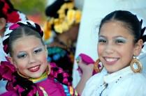 Globalfest 2012 - Mexican Pavilion - dancer, close-up, Viva Mexi