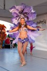 Globalfest 2012 - Brasilian Pavilion, Samba Dancer, purple