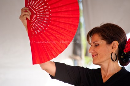 Globalfest 2012 - Spanish dancer with fan