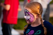 Globalfest 2012 - young girl, face painting