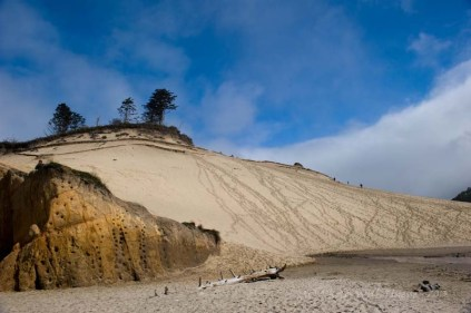 Sand Dunes, Pacific City, Oregon
