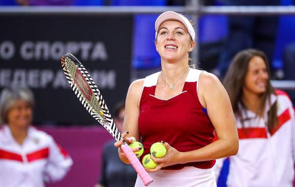 Pavlyuchenkova emerges as WTA