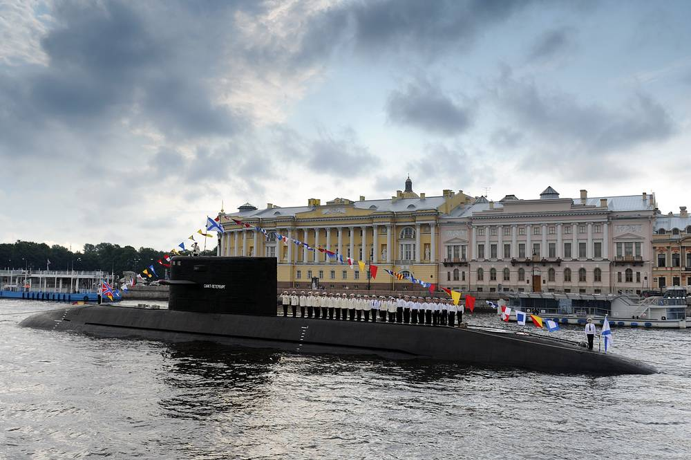 Supremacy under the sea: a glimpse at the power of Russia's submarine fleet