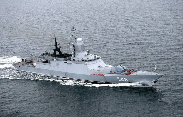 The Stoikiy corvette