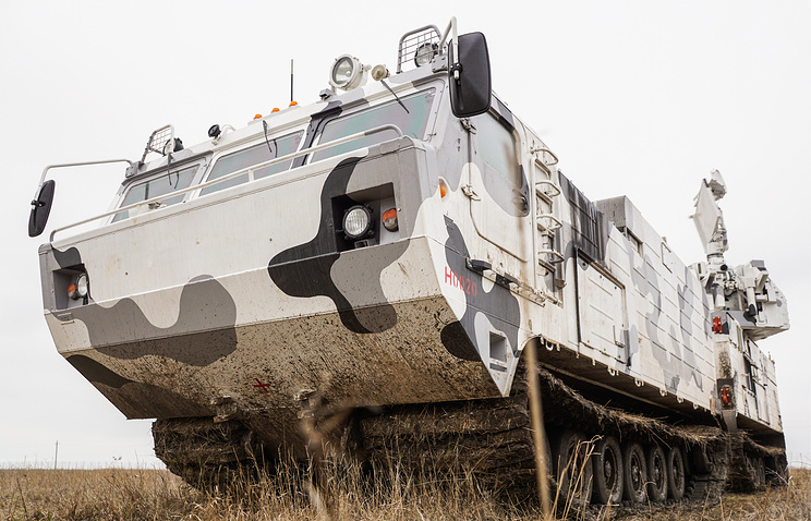 Arctic Tor-M2DT surface-to-air missile system