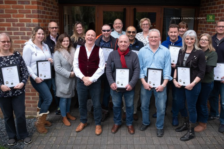 Photo of Graduates from one of our one-year Masterclass courses