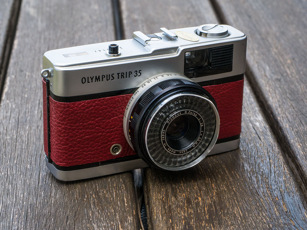 Olympus Trip 35 – The holiday camera