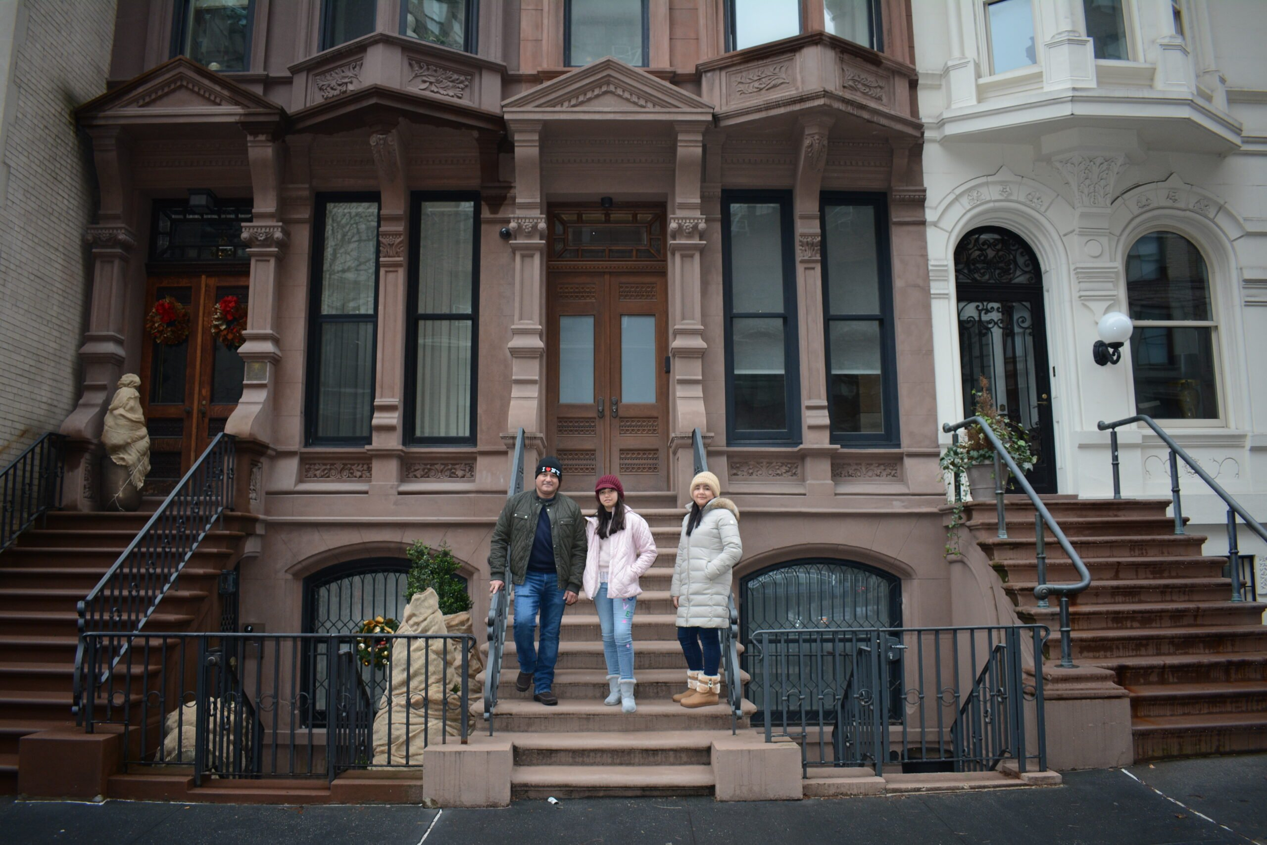 Upper East Side Brownstone on photoshoot in NYC