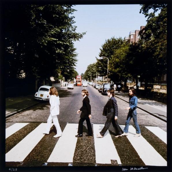 © Iain MacMillan, The Beatles, Photo 6 (Reproduction, © Bloomsbury Auctions)