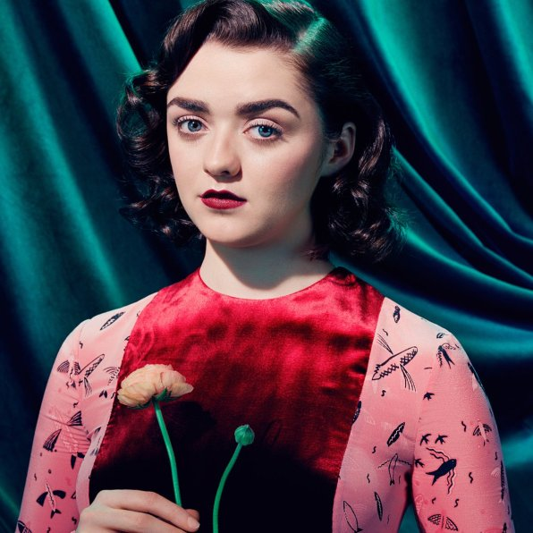 Maisie Williams | Arya Stark - © Miles Aldridge