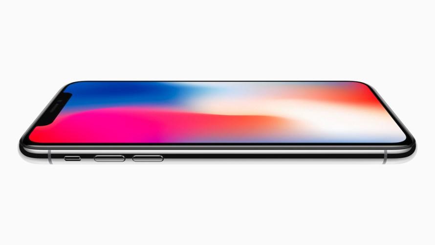 iPhone X - écran bord à bord