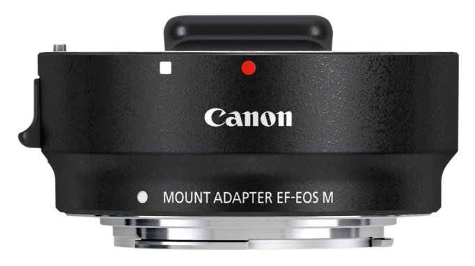 L'adaptateur EF-EOS M