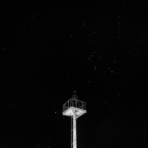 """Phare de l'Aéropostale à Baziège, série """"Carnet de vol"""", ©Christian Sanna/Résidence 1+2, 2017"""