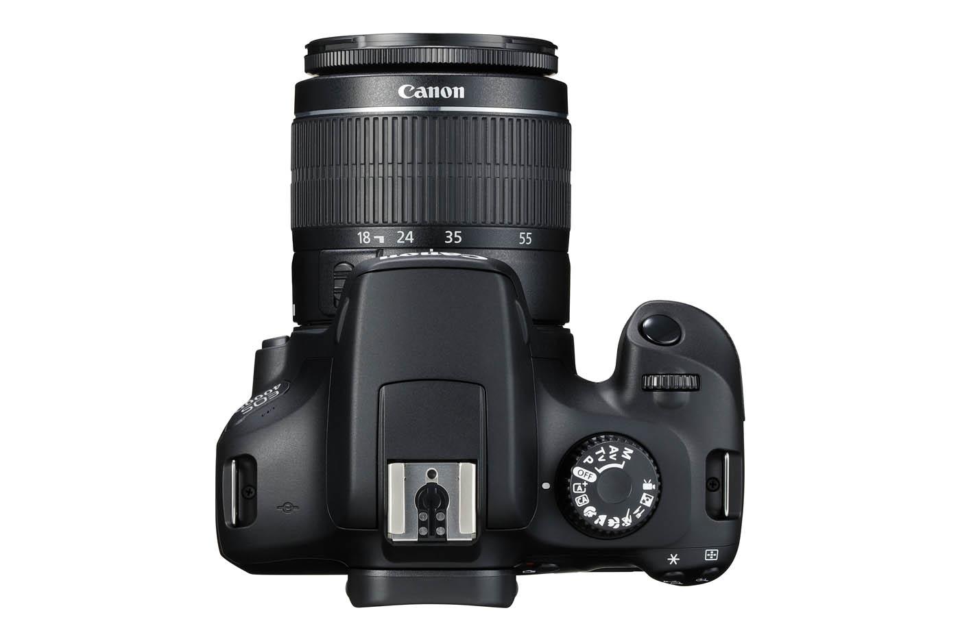 abd8eec4a370fa Canon EOS 2000D et 4000D   mise à jour de l entrée de gamme reflex
