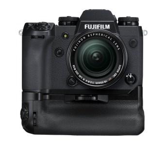 Phototrend Fuji XH1 Perseus Black Front+VPB Perseus+XF18 55mm