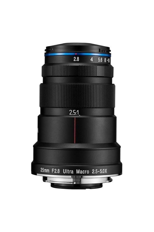 Laowa 25mm f/2.8 ultra macro 2.5-5x replié