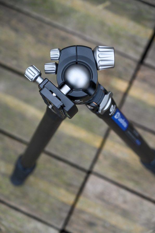 Phototrend Test Trepied Leofoto LS 324C LH 40 2