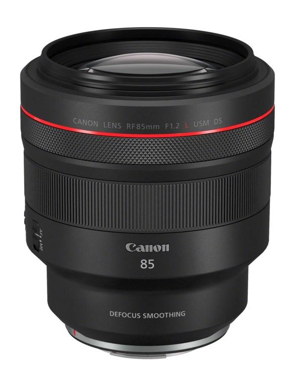 Le Canon RF 85 Mm F1,2L USM DS