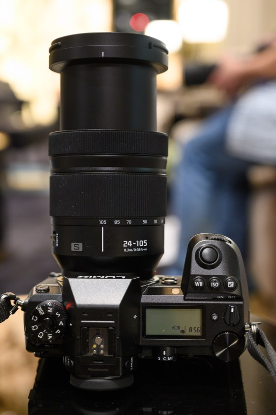 24-105mm f/4 déplié