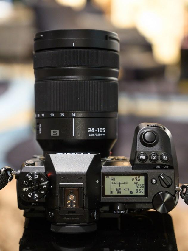 24-105mm f/4 replié