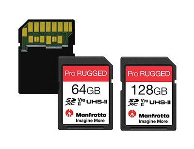 Manfrotto Cartes Memoires Pro Rugged 6