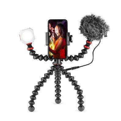 GorillaPod JOBY Vlogging Kit JB01645 BWW Standing Portrait