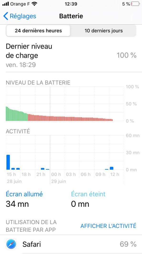 Phototrend Test IPhone SE 2020 Batterie 0