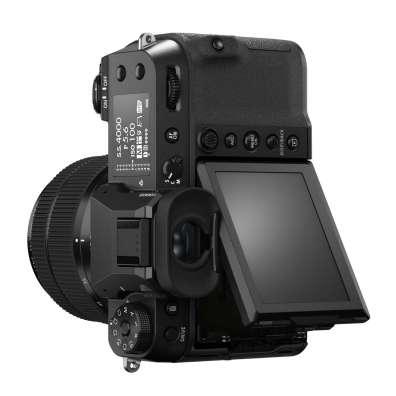 Fujifilm GFX50SII Back Diagonal Vertical